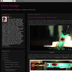 Chrix Design: Red from Transistor - The Sword