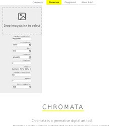 Chromata: A Generative Art Tool