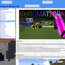 ChromatiCraft - Reika's Minecraft