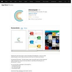 Chromavid on the AppStore