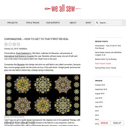 BERNINA USA's blog, WeAllSew, offers fun project ideas, patterns, video tutorials and sewing tips for sewers and crafters of all ages and skill levels.