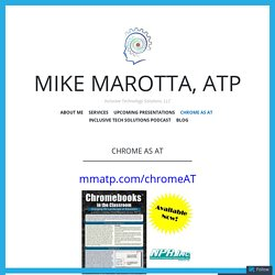 Chrome as AT | Mike Marotta, ATP