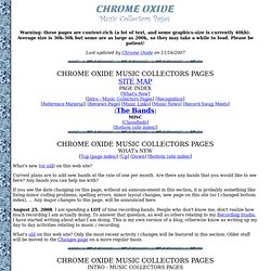 Chrome Oxide - Music Collectors pages