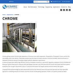 Chrome Scrubber - Kimre Inc