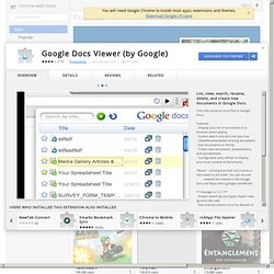 Google Docs Viewer (by Google)