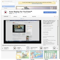 Auto Replay for YouTube