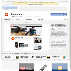 SoundCloud - Chrome Web Store