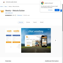 Weebly - Website Builder