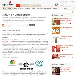 Arduino + Chromebook