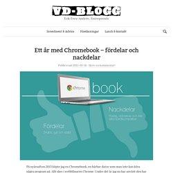 Ett år med Chromebook – fördelar och nackdelar - VD-BLOGG