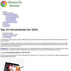 Top 10 Chromebooks for 2020 – Chrome Os ReviewsChrome Os Reviews