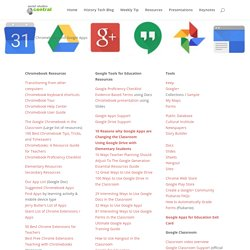 Chromebooks And Google Apps