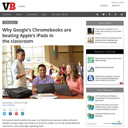 Why Google's Chromebooks are beating Apple's iPads in the classroom