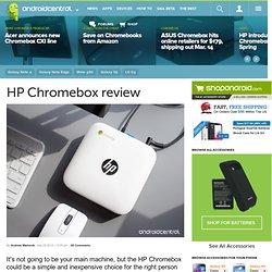 HP Chromebox review