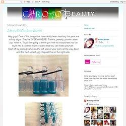 Infinity Rainbow Loom Bracelet