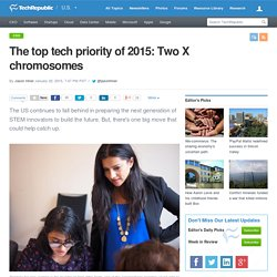 The top tech priority of 2015: Two X chromosomes