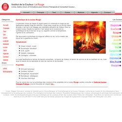 Chromothérapie: Symbolique de la couleur Rouge