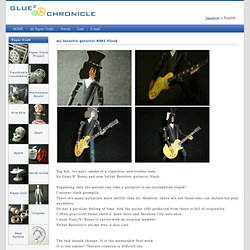 Glue² chronicle - paper doll my favorite guitarist