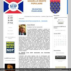 Chronique de la France asservie et… résistante : NDP Ile de France