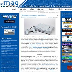 CHRONIQUE : La création de la PlayStation