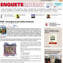ITER : Chronique d'une faillite annoncée