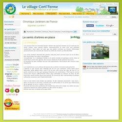 Le semis d'arbres en place - Chronique des jardiniers de France, conseils d'entretien du jardin et astuces de jardinage du Village Certi'Ferme
