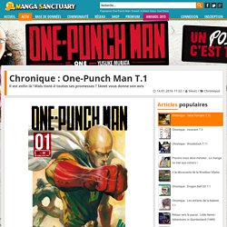 Chronique : One-Punch Man T.1