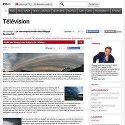 Arcus sur ligne de grain - Info - La chronique météo de Philippe Jeanneret