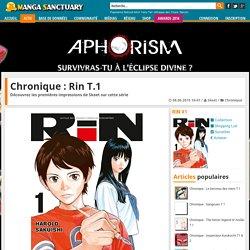 Chronique : Rin T.1