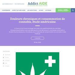 Douleurs chroniques et consommation de cannabis, étude américaine.