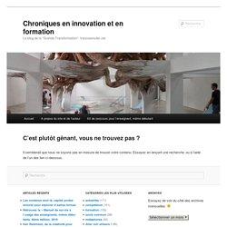 Chroniques parisiennes en innovation et en formation » Blog Archive » « Développer l'autonomie de l'élève », faire que cela soit plus qu'un voeu