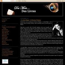Les Chroniques d'Arlis: « Le 5ème Règne » de Maxime Chattam