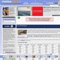 Chroniques météo - Meteo Paris