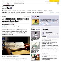 Les «Chroniques» de Guy Delisle: Jérusalem, ligne claire