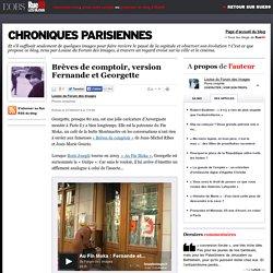 Brèves de comptoir, version Fernande et Georgette