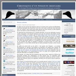 Chroniques d'un pingouin ordinaire