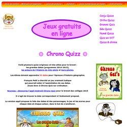 Chrono Quizz : jeux gratuits en ligne sur l'histoire pour le brevet
