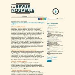 Chronologie de l'actualité des droits humains en (...)