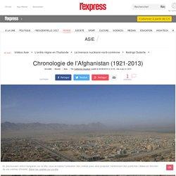 Chronologie de l'Afghanistan (1921-2013)