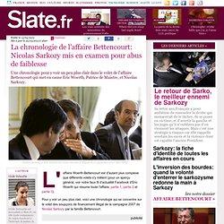 Affaire Bettencourt: Nicolas Sarkozy placé sous statut de témoin assisté