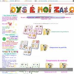 Plus petit, plus grand, égal, chronologie, alphas, alphabet, confusions sonores et visuelles nombres et comparaisons : jeux