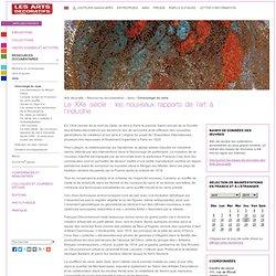 Chronologie du verre - Le XXe siècle : les nouveaux rapports de l'art à l'industrie