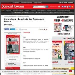 Chronologie : Les droits des femmes en France