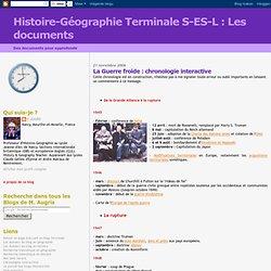 Les documents: La Guerre froide : chronologie interactive