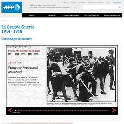 Première Guerre mondiale : chronologie interactive