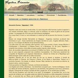 Chronologie: La première abdication de Napoléon - NapoleonPrisonnier.com