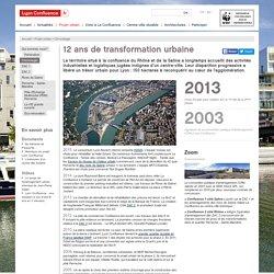 Chronologie du projet Lyon Confluence