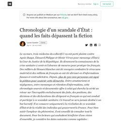 Chronologie d'une crise : des faits contre des mensonges d'État