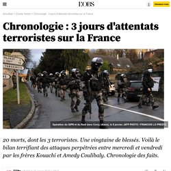 Chronologie : 3 jours d'attentats terroristes sur la France- 10 janvier 2015