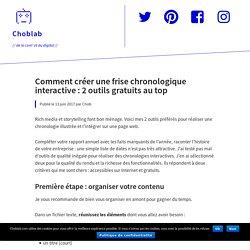 Comment créer une frise chronologique interactive : 2 outils gratuits au top – Choblab